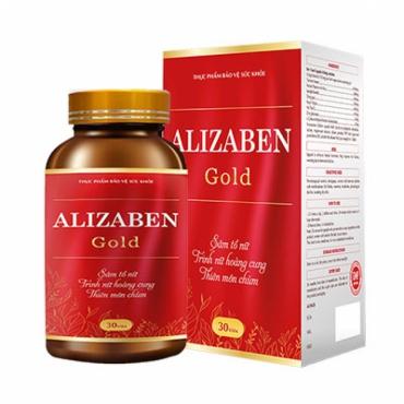 Alizaben Gold - Giúp kích thích sản sinh nội tiết tố nữ tự nhiên