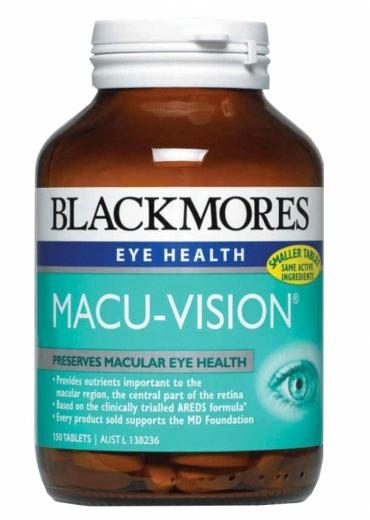 Viên Uống Bổ Mắt Blackmores Macu-Vision 150 viên