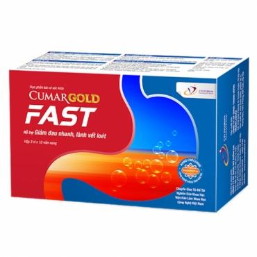 CumarGold Fast - Xua Tan Viêm Loét Dạ Dày