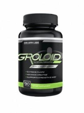 Groloid Viên uống hỗ trợ tăng cơ cho phái mạnh