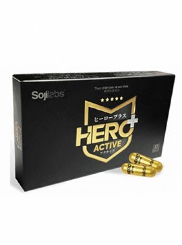 Hero+ Active – Tăng cường sinh lý giúp cho đấng mày râu sung sức trước khi ra trận