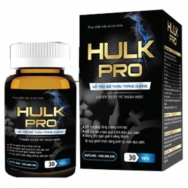 Hulk Pro đánh thức bản năng phái mạnh
