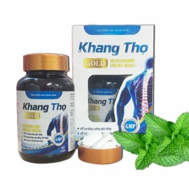 Khang Thọ Gold - Hỗ trợ điều trị các chứng đau xương khớp
