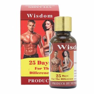 Viên uống hỗ trợ tăng cân, tăng cơ Wisdom Weight