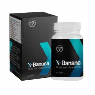 X-banana hỗ trợ sinh lý phái mạnh