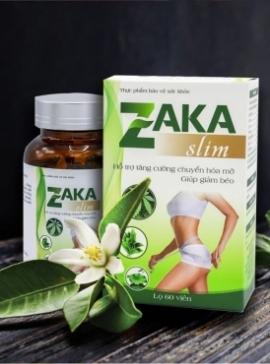 Zaka Slim - Viên Uống Giảm Cân Chính Hãng
