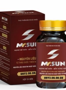 Tăng cường sinh lý MR SUN  - Đẩy lùi mãn dục nam