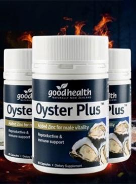 Oyster Plus - Tăng cường sinh lực phái mạnh