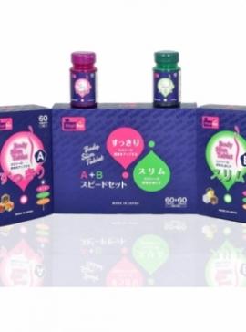 Viên uống giảm cân Nhật Bản A + B xóa tan nỗi lo tăng cân